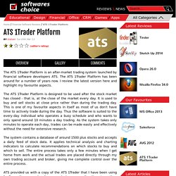 ATS 1Trader Platform - Software Reviews on SoftwaresChoice.com