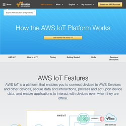 How the AWS IoT Platform Works - Amazon Web Services