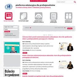 Platforma edukacyjna Fundacji Dzieci Niczyje