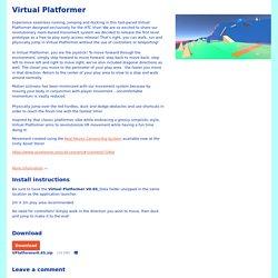 Virtual Platformer by Stereotropics Studios