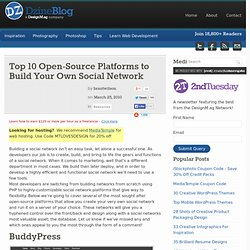 Top 10 Open-Source Platforms to Build Your Own Social Network