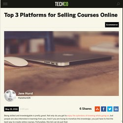 Top 3 Platforms for Selling Courses Online