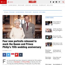 The Queen and Prince Philip's platinum wedding anniversary portraits