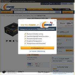 Antec HCP Platinum HCP-1000 1000W ATX12V V2.32 / EPS12V V2.92 SLI Ready CrossFire Ready 80 PLUS PLATINUM Certified Full Modular Active PFC Power Supply