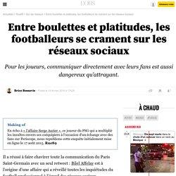 Entre boulettes et platitudes, les footballeurs se crament sur les réseaux sociaux - 14 février 2016