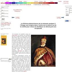 La théorie platonicienne de la mimesis assigne à l'image une origine dans l'ordre de la nature ou de la vérité pour mieux la destituer en dénonçant son incapacité - [Le doge Andrea Gritti (Titien, 1545)]