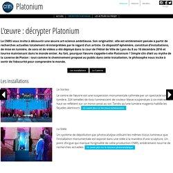 Platonium, oeuvre © CNRS