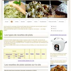 Plats - Site de mes recettes Cookeo !
