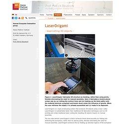 LaserOrigami