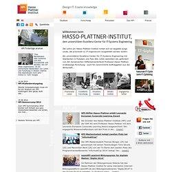 Hasso-Plattner-Institut: Willkommen