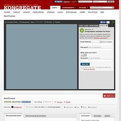 Red Fluxion on Kongregate