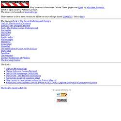 Play Infocom Adventures Online
