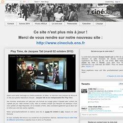 Play Time, de Jacques Tati (mardi 02 octobre 2012)