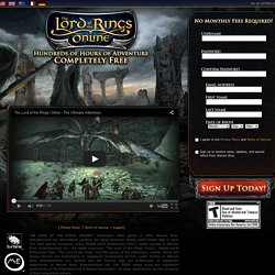 The Lord of the Rings Online - Play for Free!