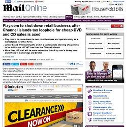 Play.com to shut down retail business