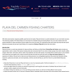 Playa del Carmen Fishing Charters