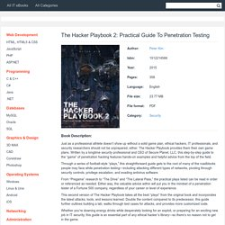 The Hacker Playbook 2: Practical Guide To Penetration Testing - pdf - Free IT eBooks Download