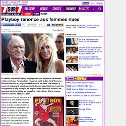 Playboy renonce aux femmes nues