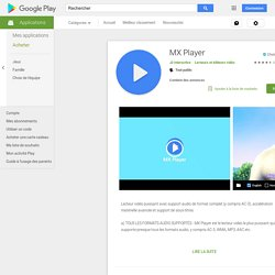 MX Player - Android-Apps auf Google Play