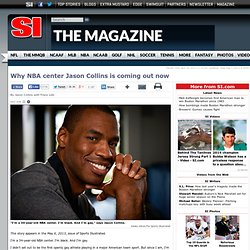 NBA player Jason Collins says he is gay - The Magazine