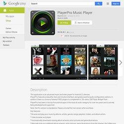 PlayerPro - AndroidMarket