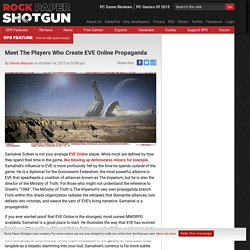 Meet The Players Who Create EVE Online Propaganda