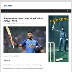 Players who can outshine Virat Kohli in ODIs in 2020.