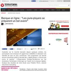 """Banque en ligne : """"Les pure-players se préparent un bel avenir"""""""