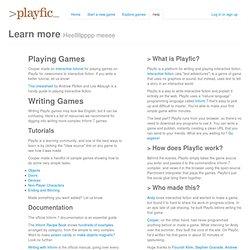 Playfic