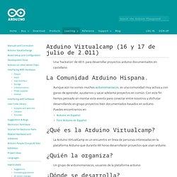 playground - Arduino en Español - Wiki Comunitaria - Arduino Barcamps