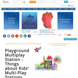 Playground Multiplay Station - Things about Kids' Multi-Play Stations
