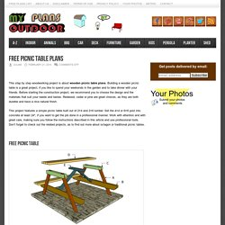 Free Outdoor Plans - DIY Shed, Wooden Playhouse, Bbq, Woodworking Projects