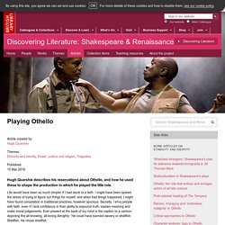 Playing Othello