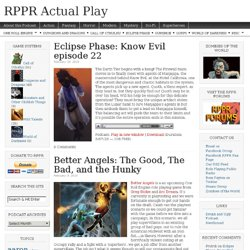 RPPR Actual Play | Role Playing Public Radio's recorded RPG sessions