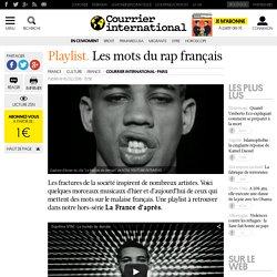Playlist. Les mots du rap français