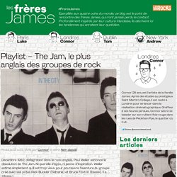 Playlist – The Jam, le plus anglais des groupes de rock