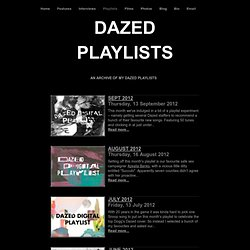 Dazed and Confused Playlists