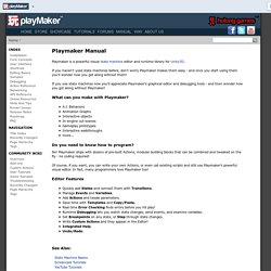 Playmaker Manual