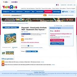 Playmobil - Grand jardin d'enfants 5024 - Seulement chez Toysrus ! - Playmobil