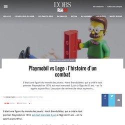 Playmobil vs Lego: l'histoire d'un combat