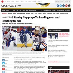 Stanley Cup playoffs: Leading men and startling trends - NHL on CBC Sports - Hockey news, opinion, scores, stats, standings