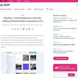 PlayPlay : l'outil parfait pour créer des vidéos professionnelles en quelques clics