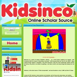 K I D S I N C O Free Playscripts for Kids! - why use playscripts in school or in the classroom?