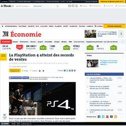 La PlayStation 4 atteint des records de vente