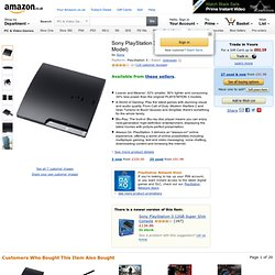 Sony PlayStation 3 Slim Console (120GB Model): Amazon.co.uk: PC