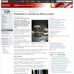 PlayStation 3 'hacked' by iPhone cracker