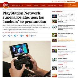 PlayStation Network supera los ataques; los 'hackers' se pronuncian - CNET en Español