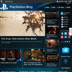 PlayStation Blog : The official PlayStation Blog for news updates on PlayStation Network, PlayStation 3, PSP and PS Vita