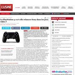 La PlayStation 4 va-t-elle relancer Sony dans les jeux vidéo? - Loisirs