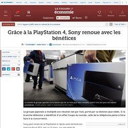 Grâce à la PlayStation4, Sony renoue avec les bénéfices